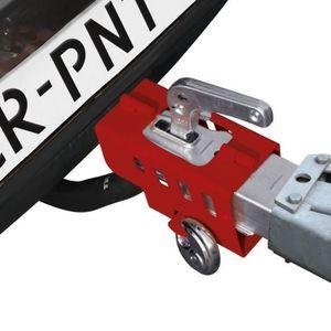 ANTIVOL - BLOQUE ROUE Antivol de remorque/ caravane pliable avec cadenas