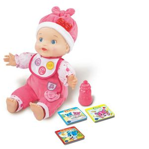 POUPÉE VTech Little Love Praat met mij Baby, Rose, Fille,