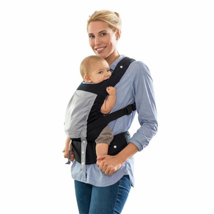 AMAZONAS - Porte bébé Smart carrier Noir