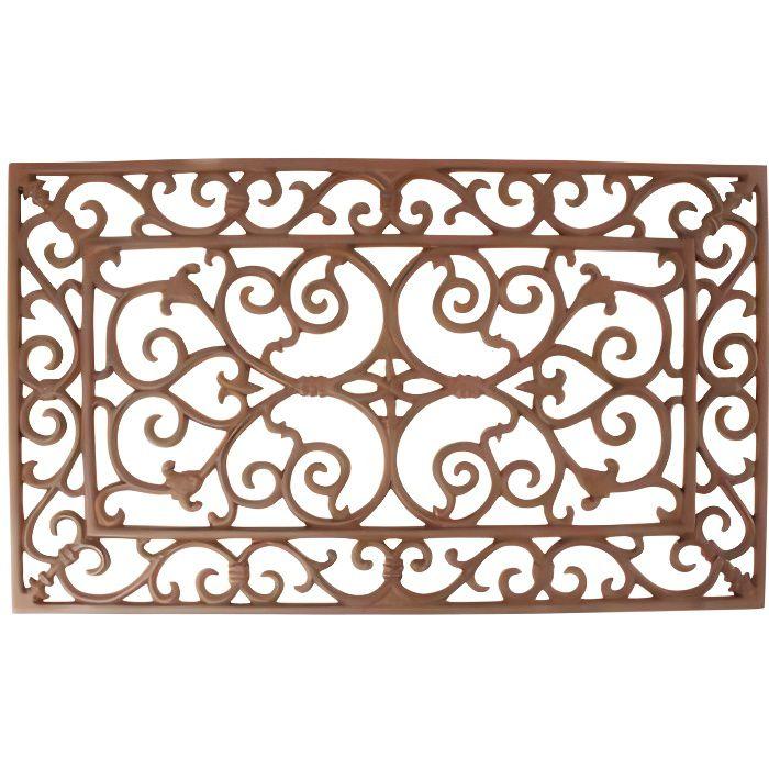 Paillasson Fonte Antique Brun 60 x 35 cm