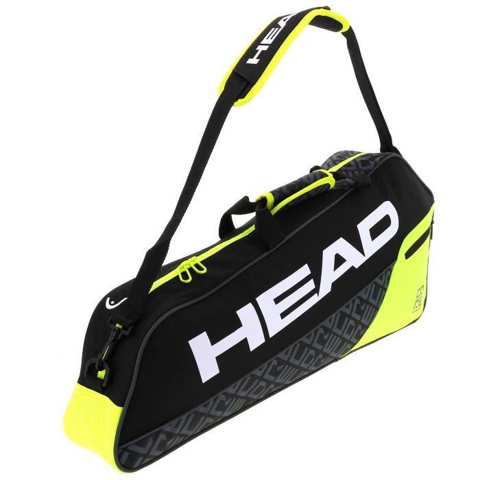 Sac de tennis Core pro 3 raquettes - Head UNI Noir