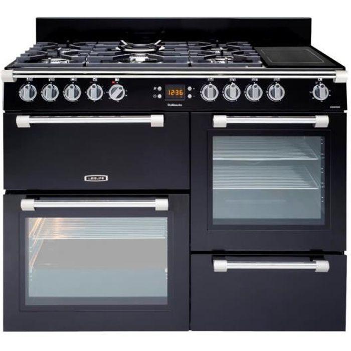 Leisure Cookmaster CK110F324K Cuisinière (four à deux étages) pose libre largeur : 110 cm profondeur : 60 cm hauteur : 90 cm…