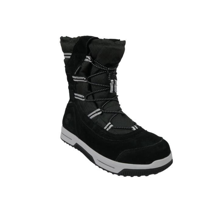 Timberland Snow Stomper Pull On WP Jr A1UIK chaussures de randonnée pour enfant Noir