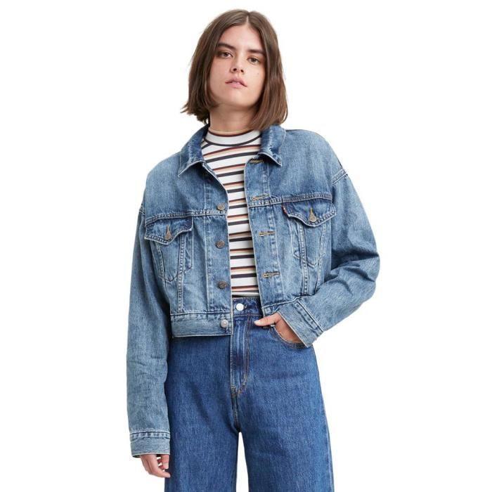 Vêtements femme Vestes Levi´s ® Crop Dad Trucker