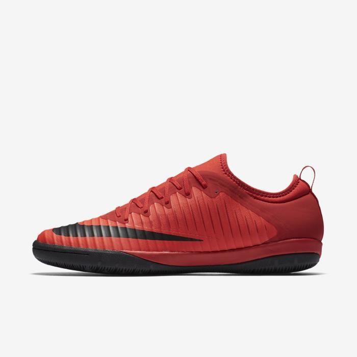 Nike MercurialX Finale II IC, Intérieur, Adultes, Mâle, Semelle d'intérieur, Noir, Rouge, Monotone