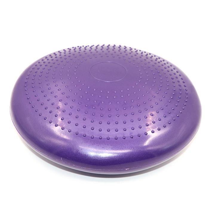 Coussin gonflable de yoga Balance Ball-Violet