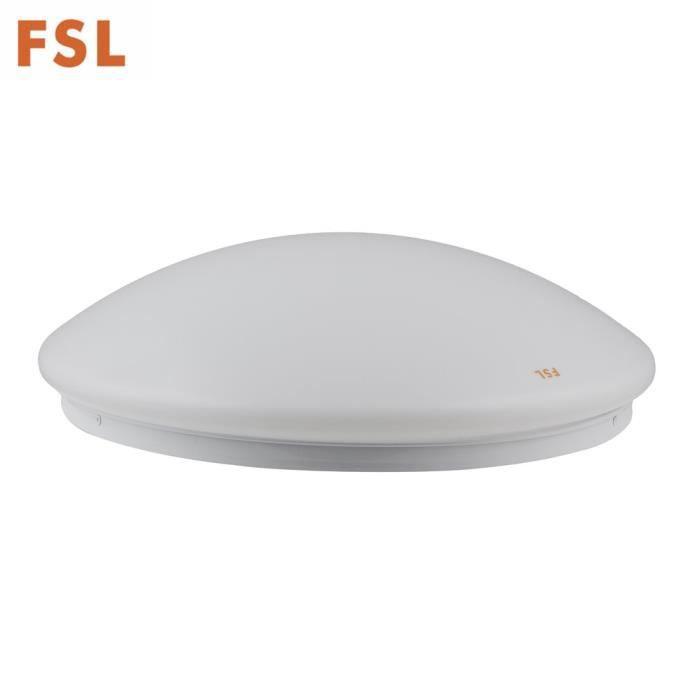 Oeil de lampe de plafond de FSL LED protégeant 220V 65K décoratif pour le blanc de bureau à domicile, 350mm