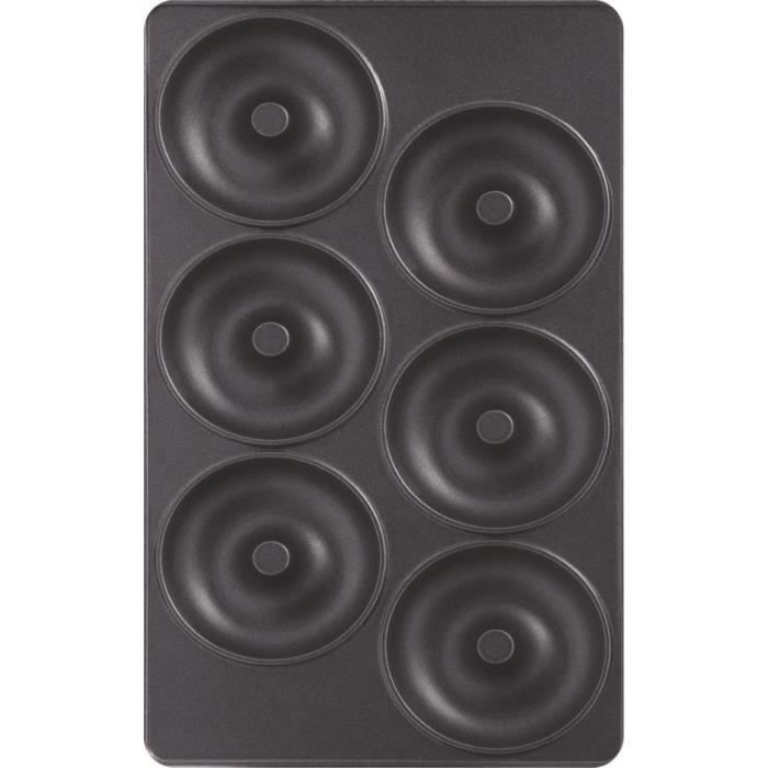 TEFAL Lot de 2 Plaques Beignets - Snack Collection - XA801112