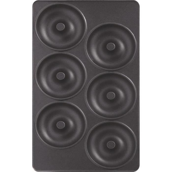 TEFAL Lot de 2 Plaques Beignets - Snack Collection - XA801112