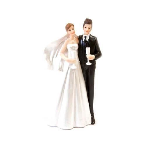 Figurine mariage: Champagne (x1) REF/SUJ4945