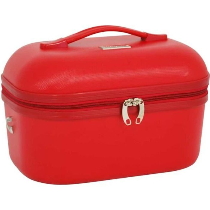 Vanity case TRAVEL'S -Kelly- - rouge - TRA-651R-17-KELLY