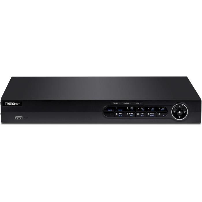 TRENDNET Station de surveillance vidéo TV-NVR416 16 Canaux Filaire - Enregistreur Réseau Vidéo - HDMI