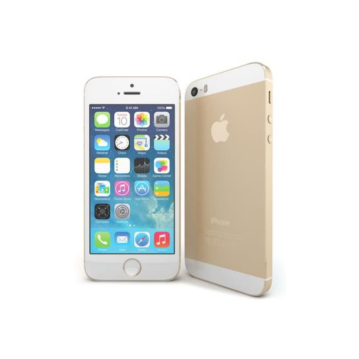 iphone 5s 16gb gold achat smartphone pas cher avis et. Black Bedroom Furniture Sets. Home Design Ideas