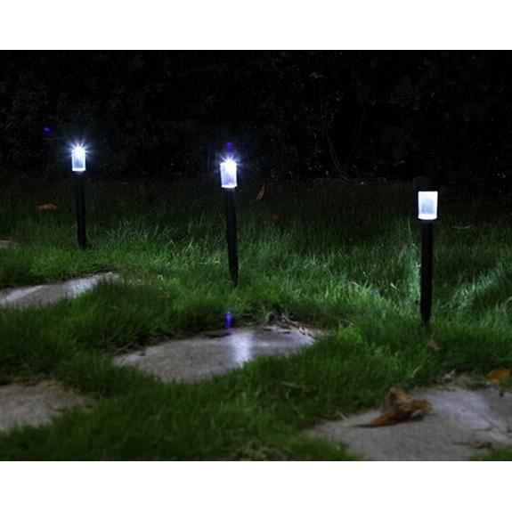 Led lumi re solaire paysage chemin led lampes solaires ext rieures jardin lampe led lumi re - Lumiere solaire jardin ...