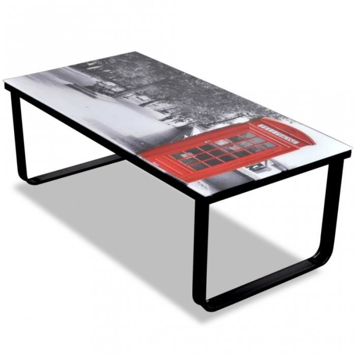 Table basse londre achat vente table basse londre pas cher cdiscount - C discount table basse ...