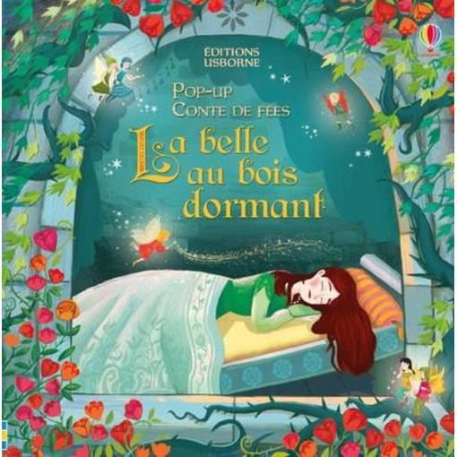 Livre Pop Up Conte De Fees La Belle Au Bois Gourmant