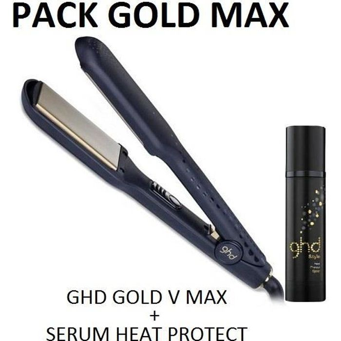 ghd lisseur styler max gold v s rum achat vente fer. Black Bedroom Furniture Sets. Home Design Ideas