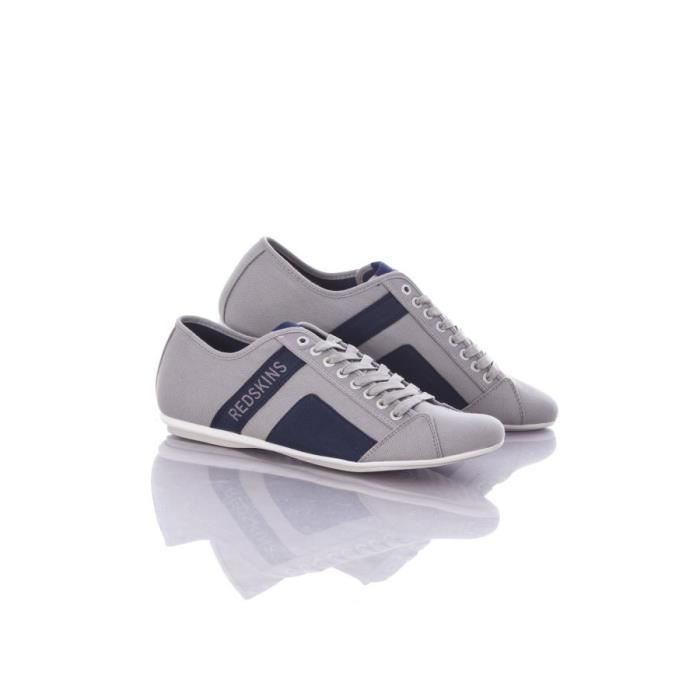 Chaussures Redskins Baskets en toile Bank gris navy zOai810
