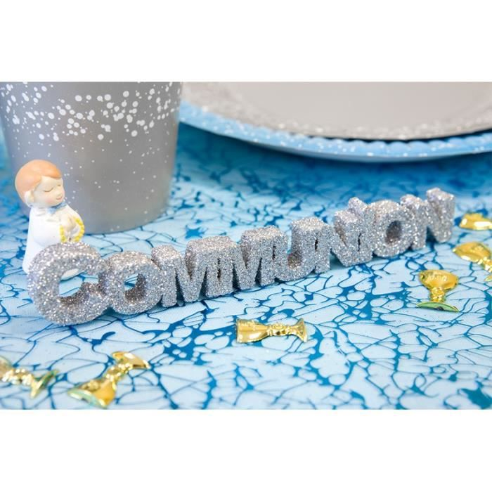 Deco de table communion achat vente pas cher - Decoration de table pour communion fille ...