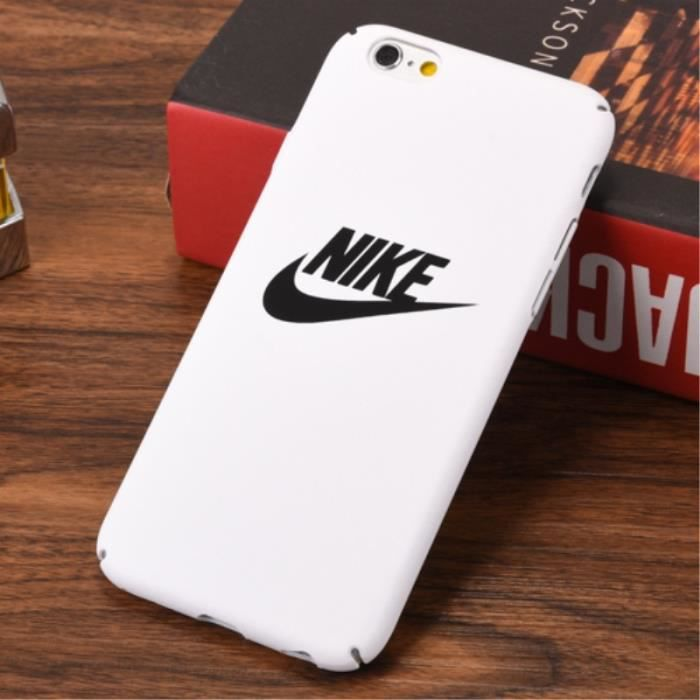 nike coque iphone 5 5s se blanc logo
