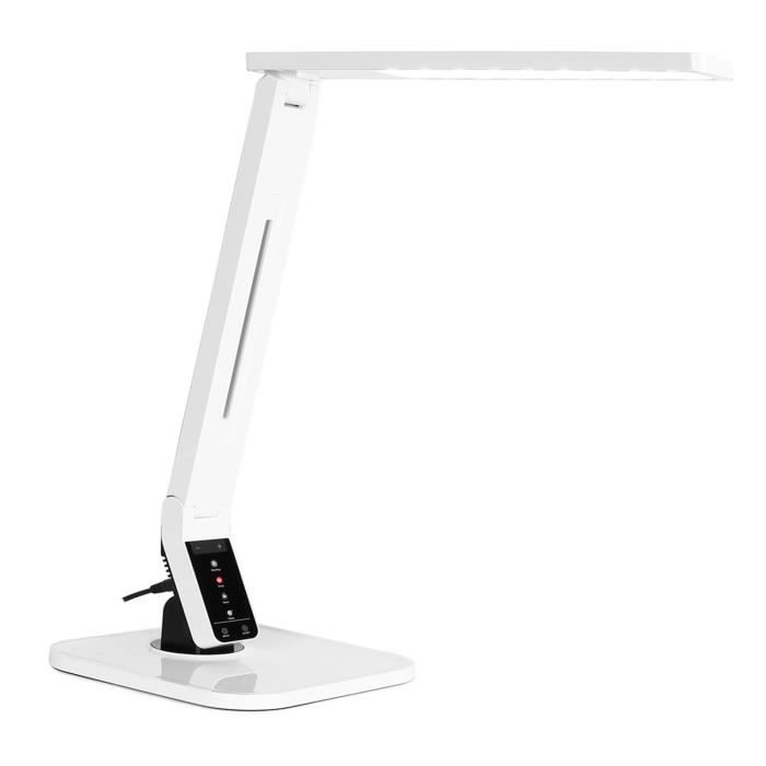 oneconcept daily light lampe de bureau led moderne avec port usb pour recharge smartphone. Black Bedroom Furniture Sets. Home Design Ideas