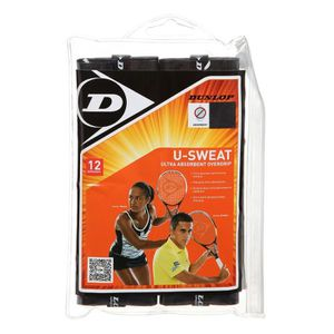 GRIP RAQUETTE DE TENNIS DUNLOP Lot de 12 Surgrips U-Sweat Overgrip pour Ra