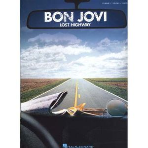 AUTRES LIVRES Bon Jovi ; lost highway ; tablatures ; piano, c...