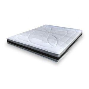 7 zones poches ressorts matelas silver 90 x 200 latex /& noix de coco h2.5//h3