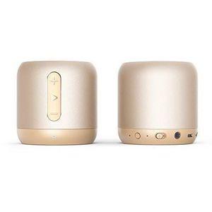 ENCEINTE NOMADE Mini Enceinte Bluetooth dorée 15 Heures d'autonomi