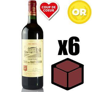 VIN ROUGE X6 Château Tour du Haut Moulin 2015 75 cl AOC Haut