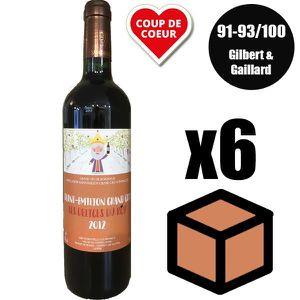 VIN ROUGE X6 Les Délices du Roy 2012 Rouge 75 cl AOC Saint-É