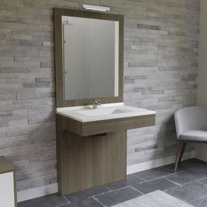 SALLE DE BAIN COMPLETE ALTEA Ensemble meuble de salle de bain double vasq
