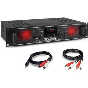 AMPLI PUISSANCE Amplificateur Sono DJ Skytec SPL2000BTMP3 2000W -