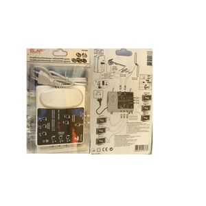 REPETEUR DE SIGNAL Amplificateur TNT 2 entrées UHF/FM/VHF / 6 sortie