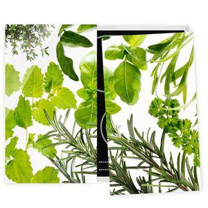 PLAQUE INDUCTION Couvre plaque de cuisson - Various Herbs - 52x60cm