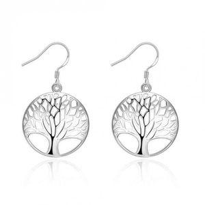 boucles d'oreille arbre de vie