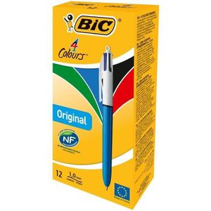 stylo 4 couleurs bic