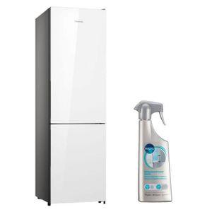 RÉFRIGÉRATEUR CLASSIQUE HISENSE Réfrigérateur frigo combiné blanc 334L A++
