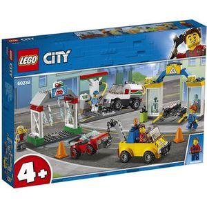 ASSEMBLAGE CONSTRUCTION LEGO® 4+ City 60232 Le garage central - Jeu de Con