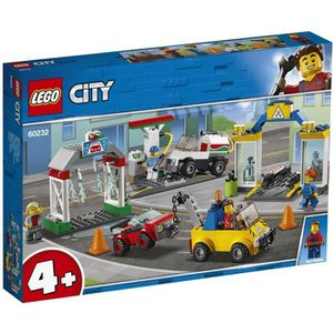 ASSEMBLAGE CONSTRUCTION LEGO® 4+ City 60232 Le garage central