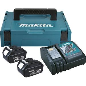 CHARGEUR MACHINE OUTIL Batteries + chargeur Makita Kit 4Ah 18V