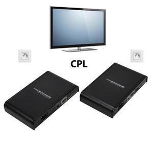REPETEUR DE SIGNAL MCL-Transmetteur HDMI par courant porteur - 300m