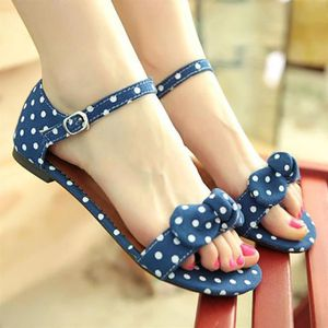 SLIP-ON Sweet Bowknot Bow Chaussures Gentlewomen Slip Hasp