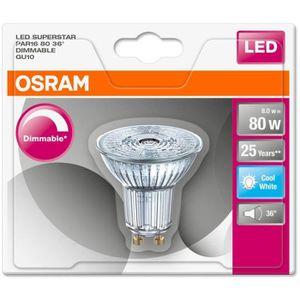 AMPOULE - LED OSRAM Ampoule Spot LED PAR16 GU10 7,2 W équivalent