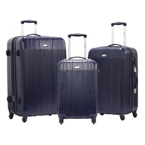 "SET DE VALISES Set de 3 Valises Trolley - UTOPIA ""XLITE 2"" - Poly"
