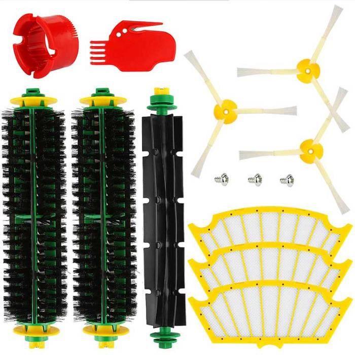série 500 Remplacez votre aspirateur Accessoires pour iRobot série Roomba 500 Pièces de rechange pour filtre à brosse