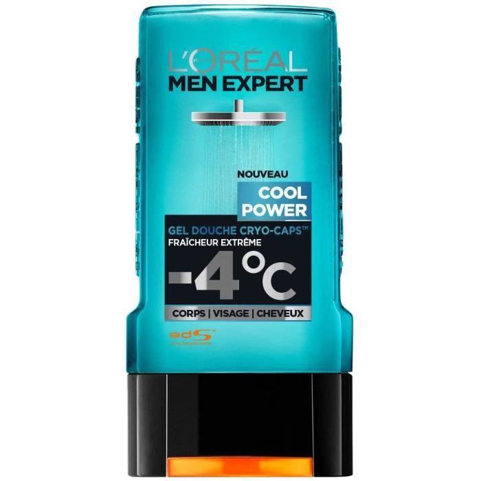 L'Oréal Men Expert Cool Power Fraicheur Extrême Gel Douche pour Homme 300 ml 42969