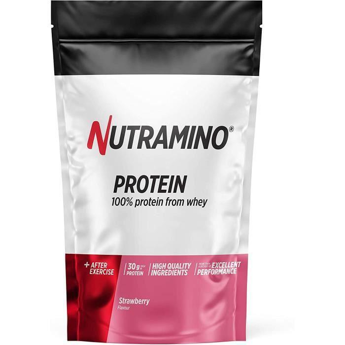 Whey Protéine en Poudre avec Whey Isolate Protéines Musculation Prise de Masse Fraise 1 kg 377