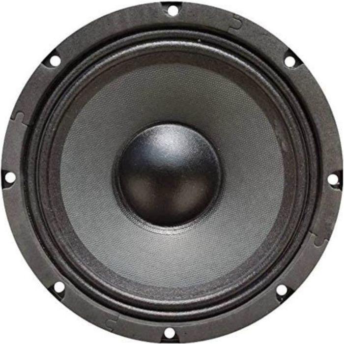 1 KARMA WF-6808 haut-parleur woofer 20,00 cm 200 mm 8- 150 watts rms 300 watts max impédance 8 ohms sensibilité 88 db spl, 1 pièce