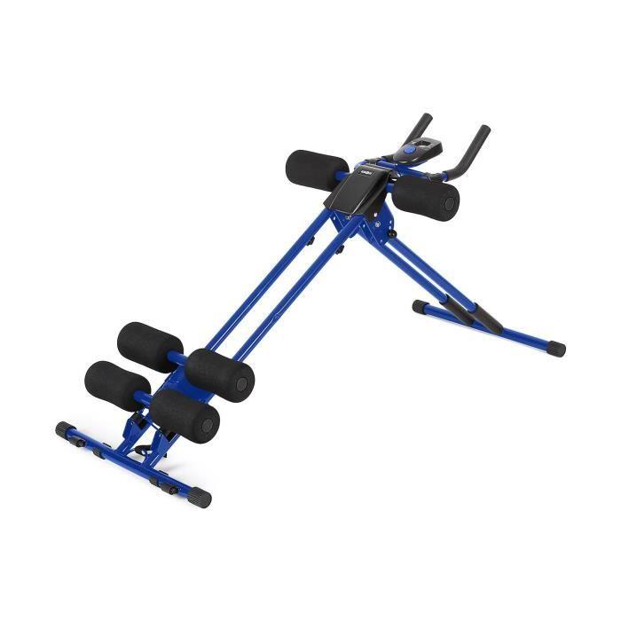 Klarfit AB Cruncher Appareil de musculation pour abdominaux - Bleu